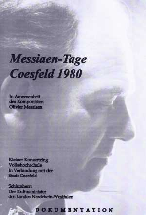 Messiaen Dokumentation Titelblatt 300x441